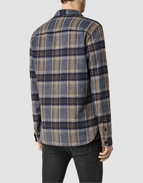 wholesale bulk wool blend winter flannel shirts
