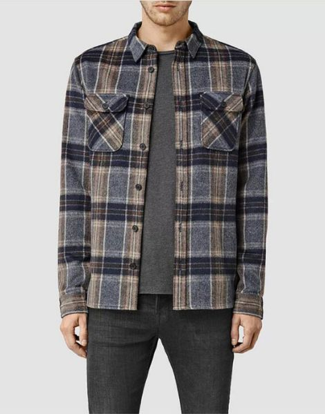 wholesale wool blend winter flannel shirts manufacturers
