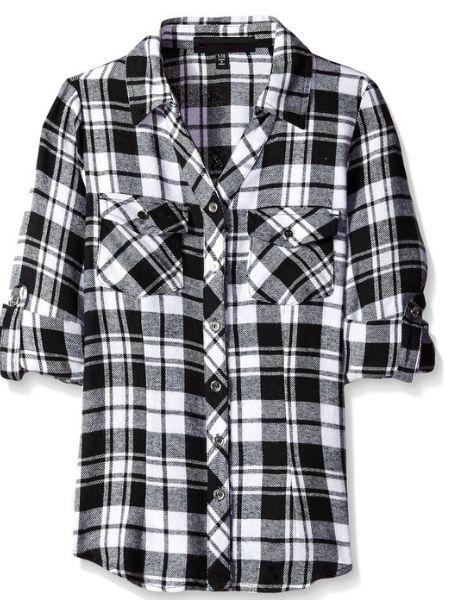 bulk cotton printed kids flannel shirt
