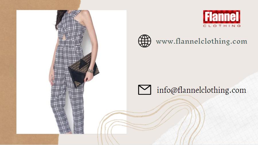 flannel jumpsuit manufacturer