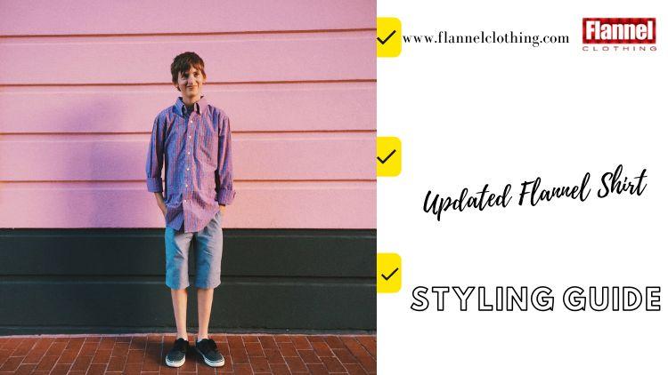 updated flannel shirt